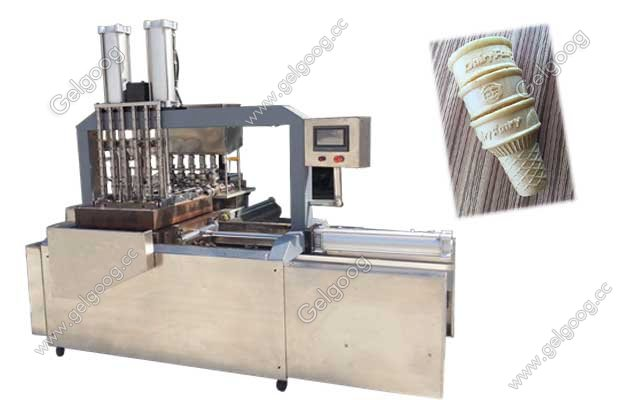 Full Automatic Wafer Ice Cream Cone Machine
