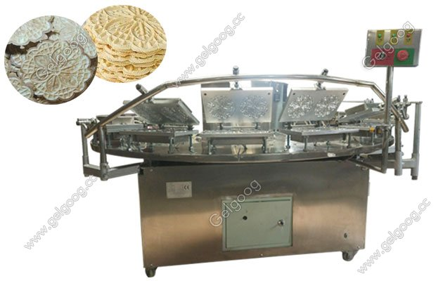 Italian Pizzelle Cookies Baking Machine|Sunflower Cookies Machine