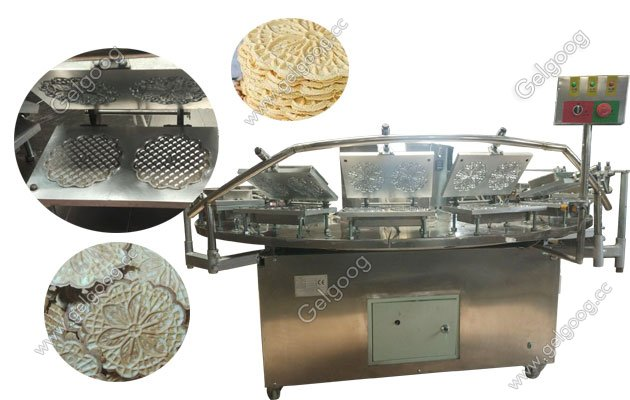 sunflower cookies baking machine with low price in china