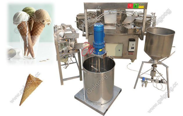 Waffle Ice Cream Cone Making Machine Manufacturer