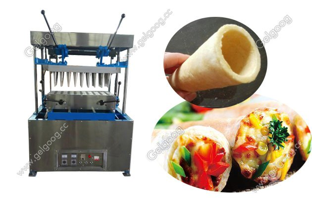 Pizza Cone Maker Supplier With 40 Moudls