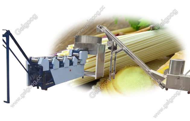Small Scale Stick Noodle Making Machine Line Factory