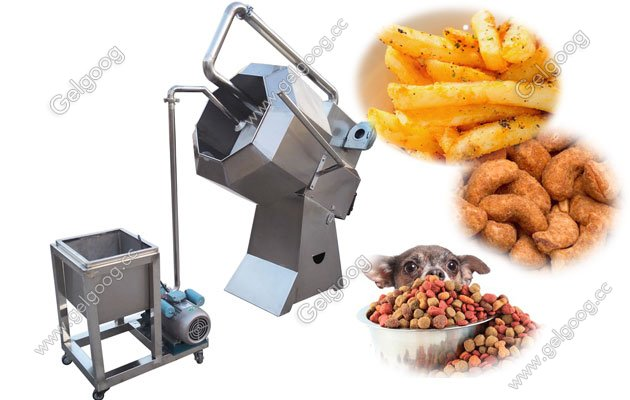 Snack Seasoning Machine For Popcorn|Potato Chips|Pet food