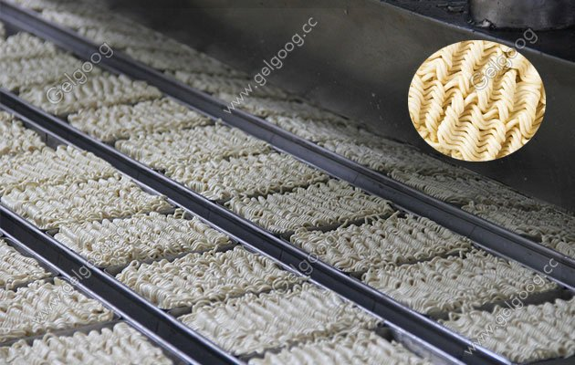 Automatic Fried Free Instant Noodle Processing Line