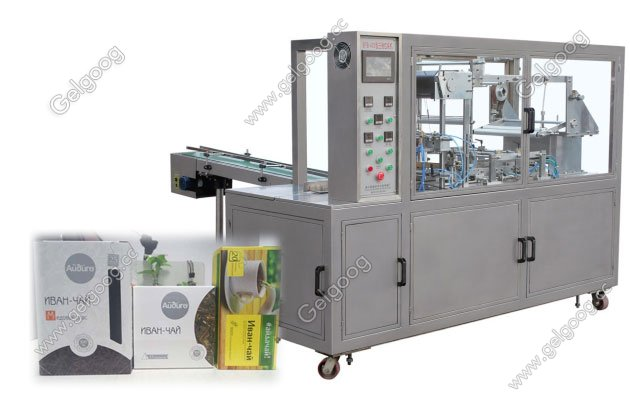 Fully Automatic Cellophane Packaging Machine for 10 Cigarette Packs GGB-400A