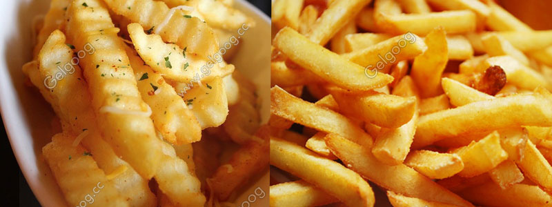 French fries|potato chisp types