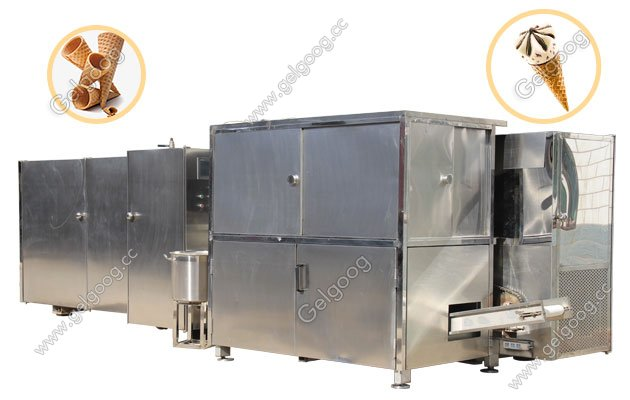Full Automatic Rolled Sugar Cone Production Line