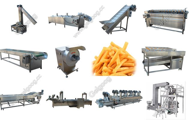 Full Automatic French Fries Production Line For Sale