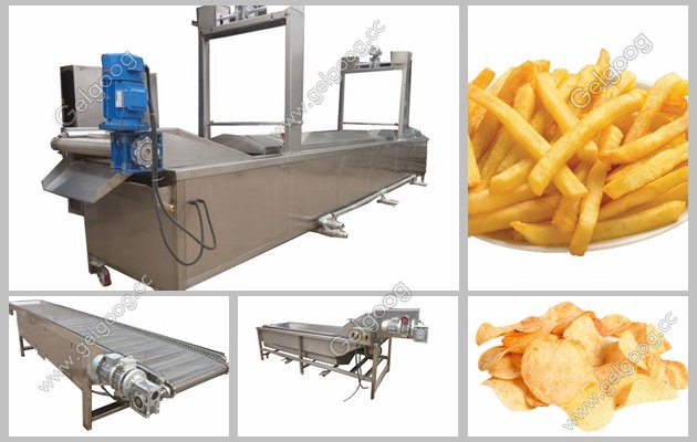 Potato Chips Processing Plant Manufacturer