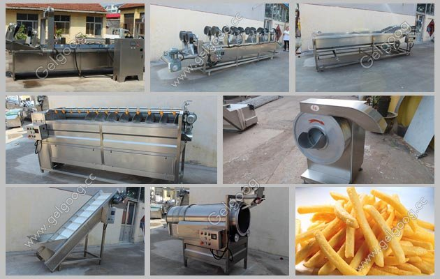 Automatic Potato French Fries|Finger Chips Machine Supplier