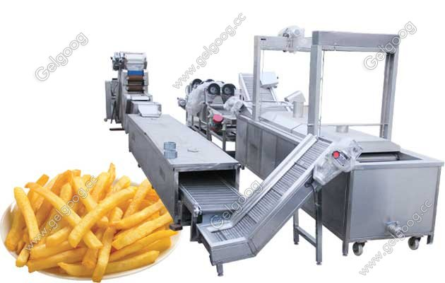 guangzhou gelgoog french fries productuion line