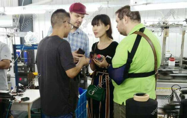 Warmly Welcome Russian Customers Vist Guangzhou Gelgoog Factory