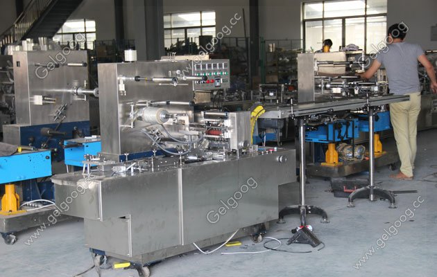 autoamtic cellophane wrapping machine