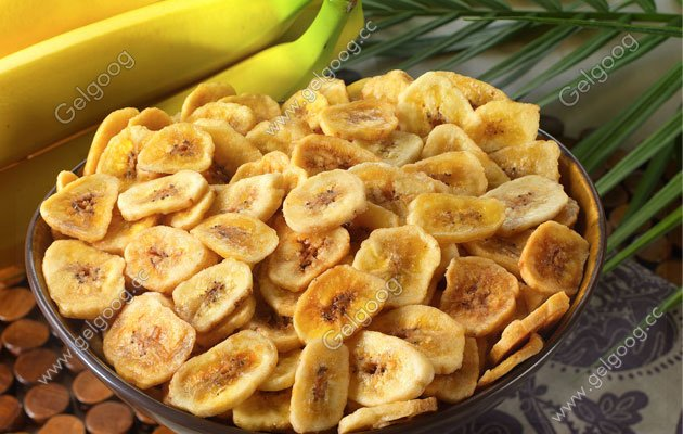 complete banana chips processing line