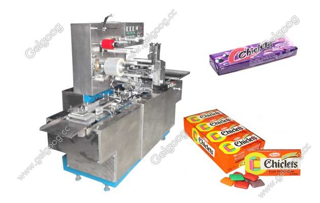 Chiclets Stick Cellophane Packing Machine