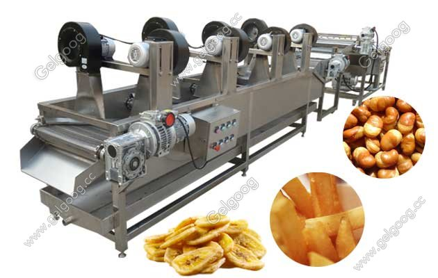 Fried Snack Food Cooling Machine