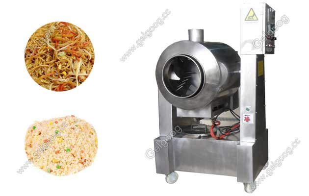 Multifunctional Frying Machine For Rice and Noodle