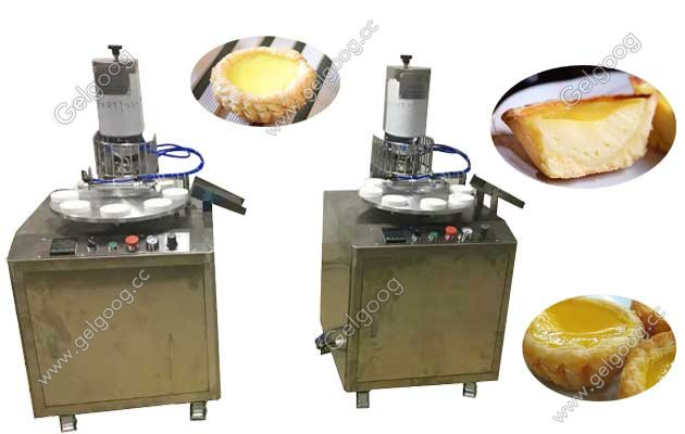 Hong Kong Egg Tarts making machine with best price in china manufacturer
