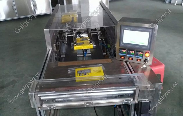 semi automatic cellophane wrapping machine for tea boxs