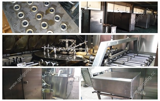 full automatic ice cream cone production line factory