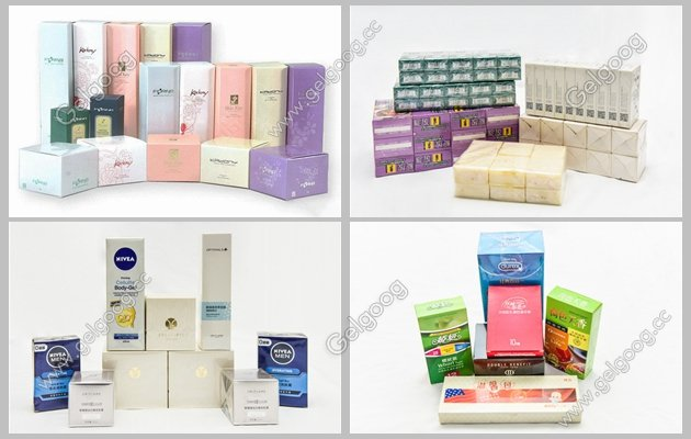 automatic perfume box cellophane packing machine for slae