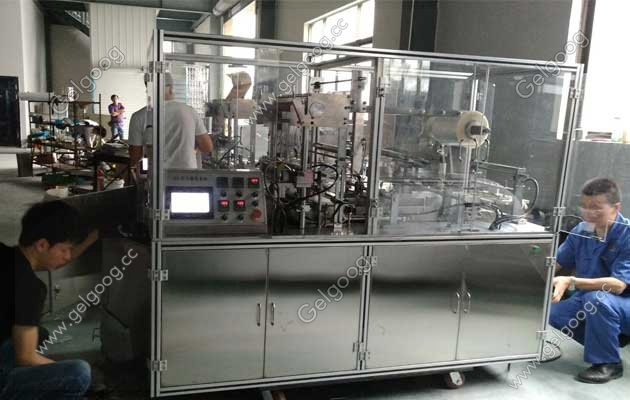 automatic small box cellophane wrapping machine for sale
