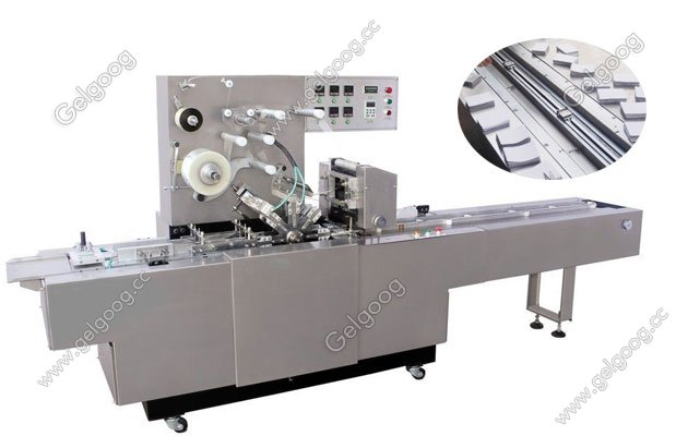 cellophane wrapping machine for play card packing