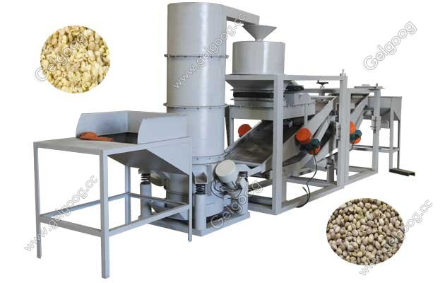 Industrial Hemp Seeds Dehulling Machine|Hemp Seed Processing Equipment
