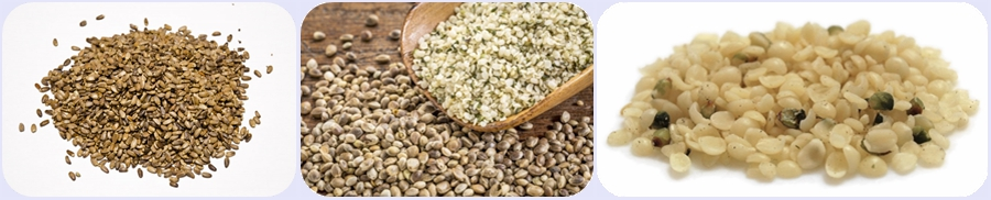 automatic hemp seeds dehulling machine