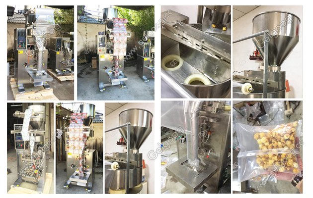 automatic granule filling and sealing machine