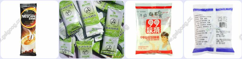 automatic plastic pouch granule packing machine