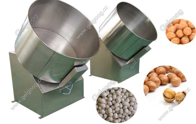automatic peanut coating process machine