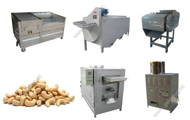 Cashew Nut Shelling Process Plant With Best Price
