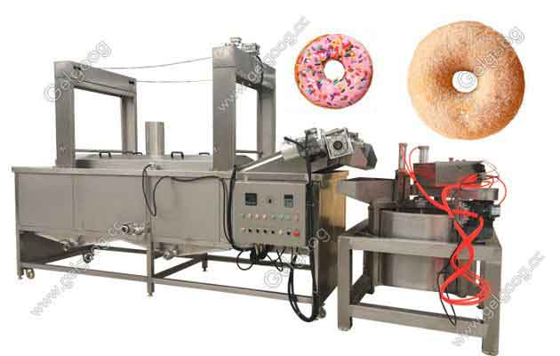 Commercial Circular Donut Frying Machine For Sale