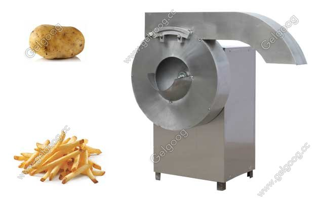 Automatic Potato French Fries Cutting Machine Commercial