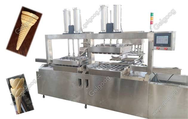 wafer ice cream cone machine