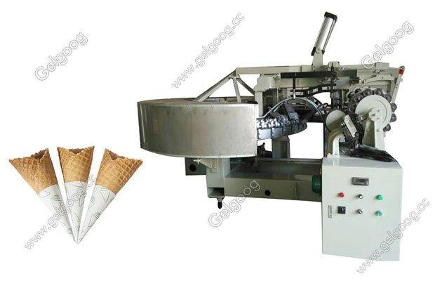 industrial automatic sugar cone baking machine