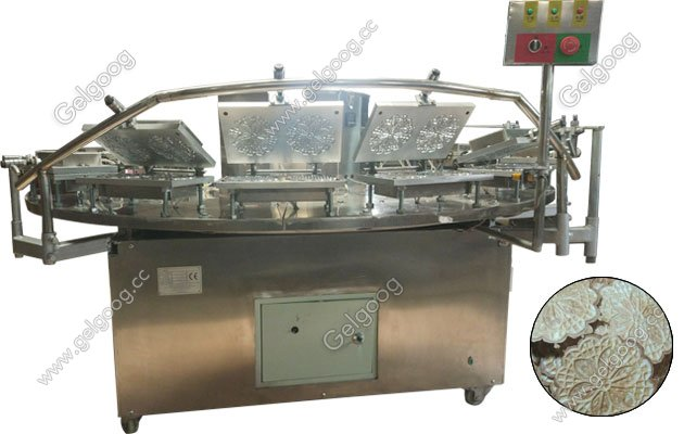 Pizzelle Cookies Baking Machine