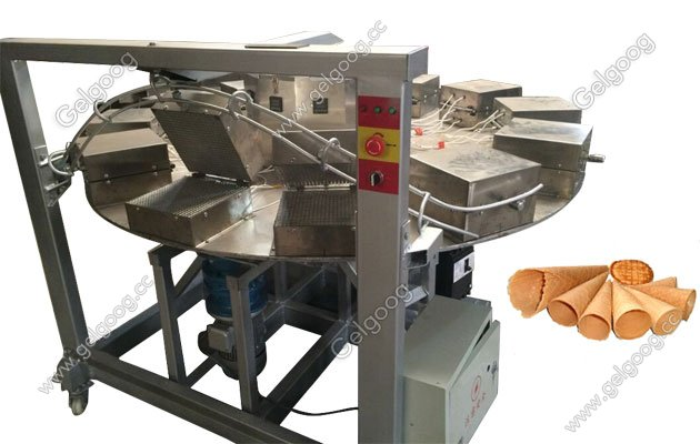 rolled sugar cobe baking machine for sale in china