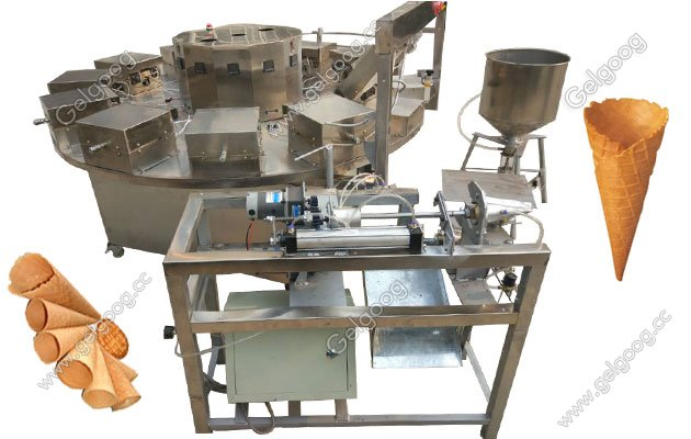 rolled sugar cobe baking machine for sale