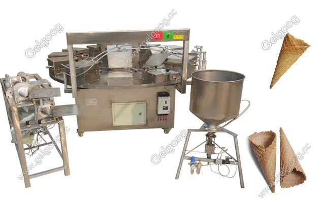 wafer ice cream cone making machine price