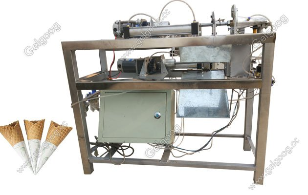 sugar cone rolling machine