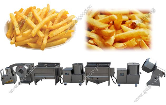 french fries making machine for small scale