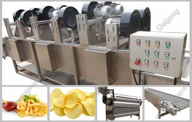 potato chips process plant manufacturer