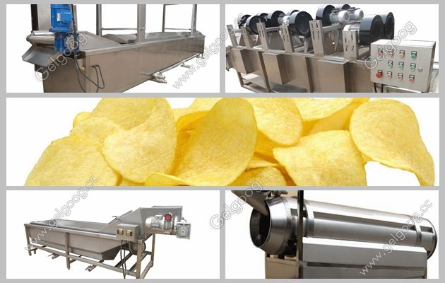 automatic potato chips production plant manufacturer