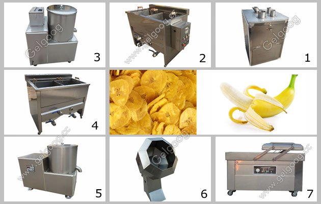 bananachips processing machine in china