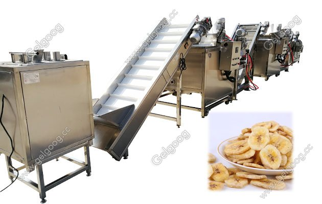 automatic Plantain Chips Processing Line