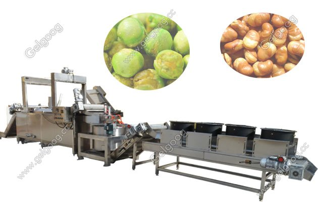 broad beans frying machine with high quality in china for sale