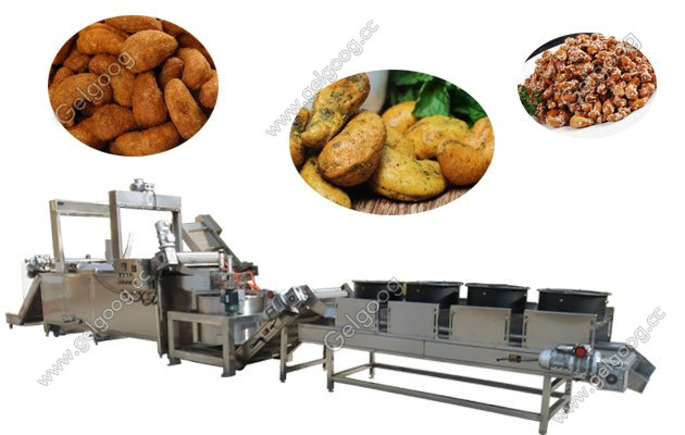 saving energy nut frying machine for groundnut