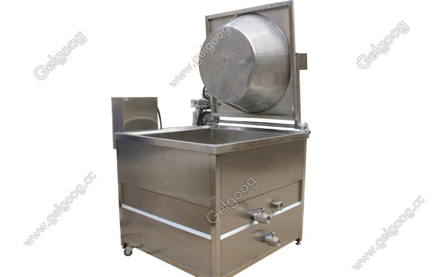 snack foood deep dryer machine with automatic discharging